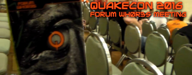 The annual Forum Wh0r3s meeting from Friday night after Master Pancake. There was cake, goodies, and butt scratchas. QuakeCon Forums: http://www.qconforums.com |-[ Playlist ]-| |-[ More from QuakeCon 2016 […]